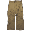 LOGO_Women's Brown Vintage Paratrooper Fatigue pants