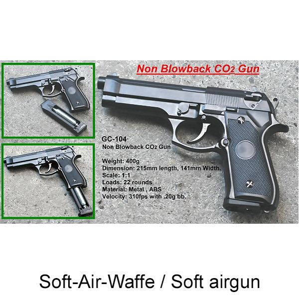 LOGO_Non Blowback Gas & Co2 Pistol