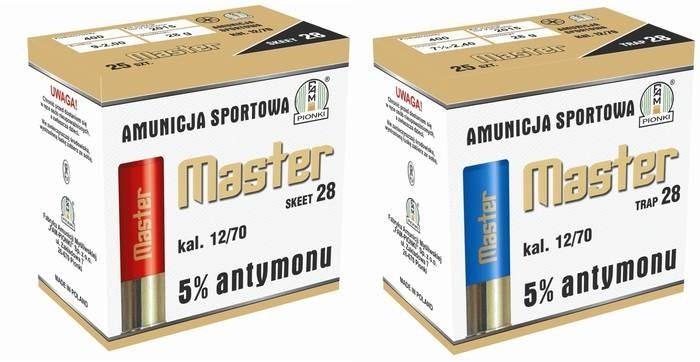 LOGO_MASTER SKEET, TRAP cal. 12/70 , 5% antimon