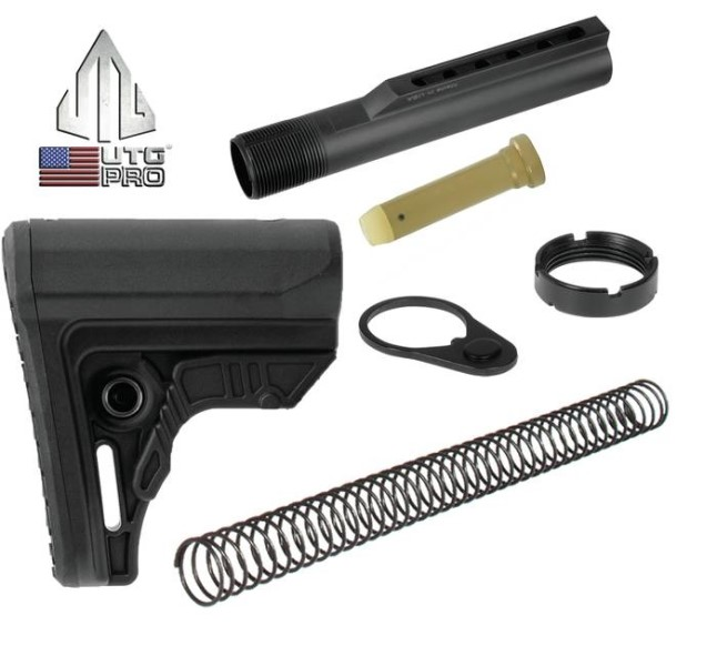 LOGO_UTG PRO Ultra Sub-Compact and Sub-Compact S-Series of Collapsible Stocks