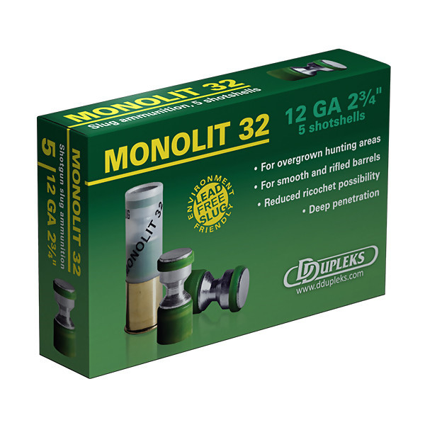 LOGO_Monolit 32 steel slug shotgun ammunition