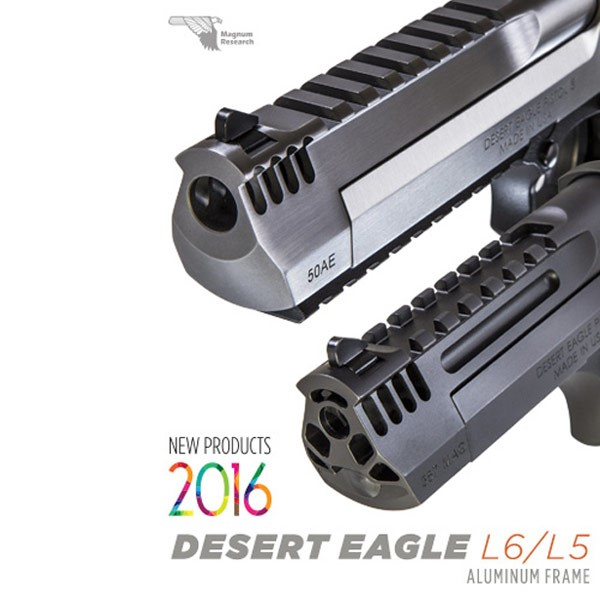 LOGO_Neue Modelle der legendären Desert Eagle