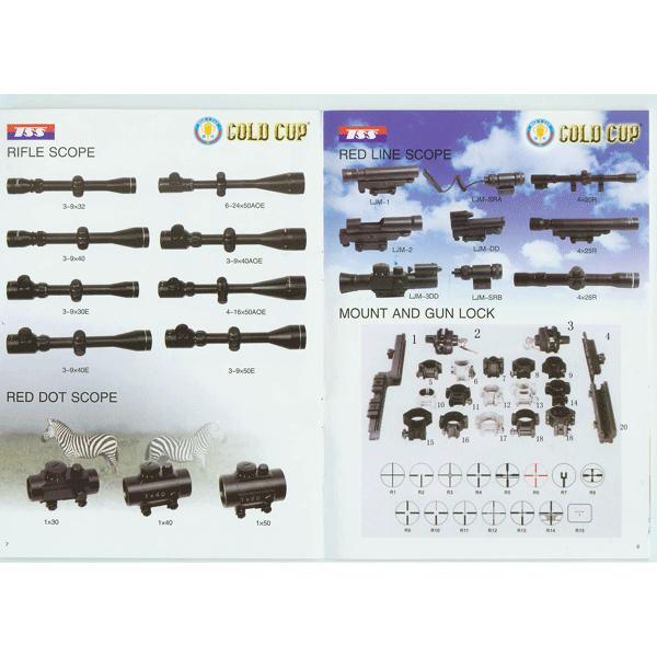 LOGO_Rifle Scope_Red dot(Line) Scope_Mount and Gun Lock