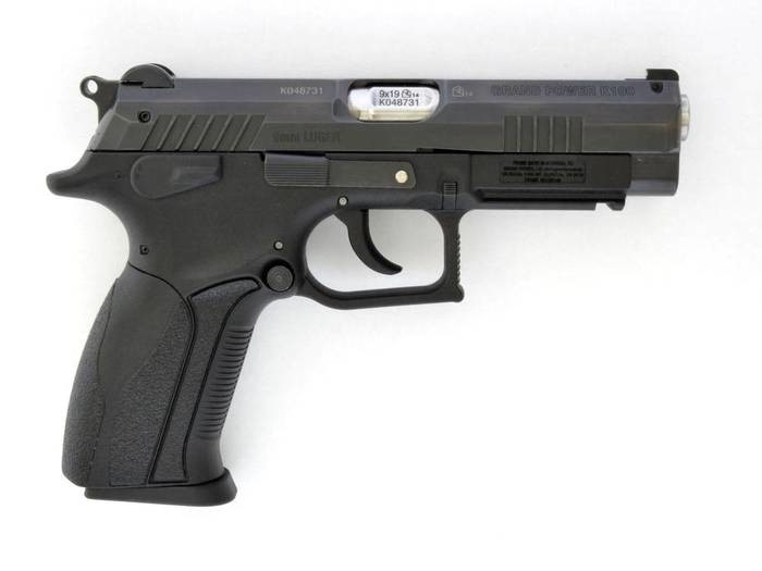 LOGO_semi automatic pistol GRAND POWER K100 Mk12, cal. 9 mm Luger