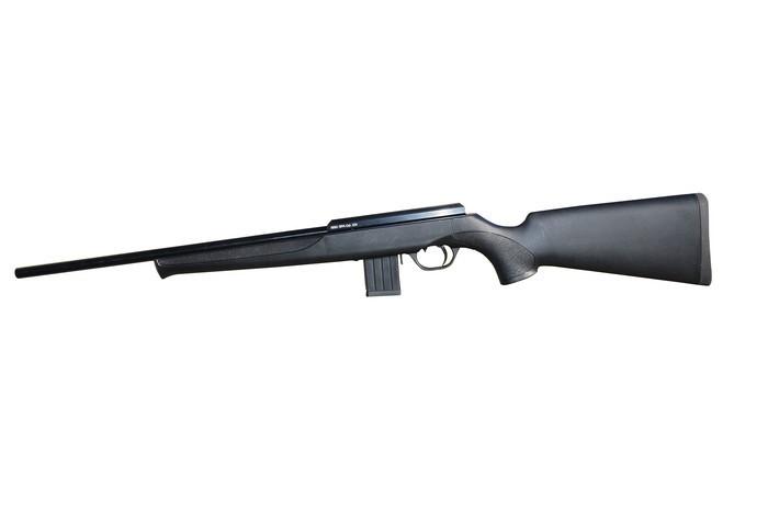 LOGO_Gewehr mit Kunststoffschaft