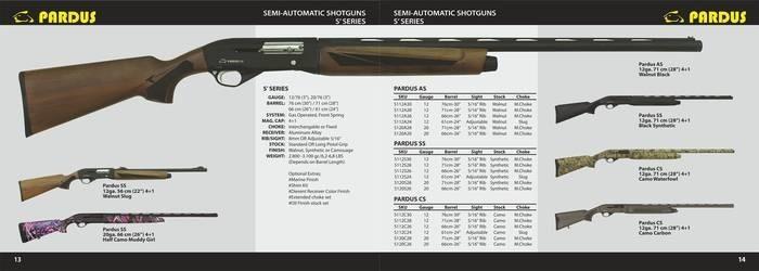 LOGO_Semi Automatic Shotgun