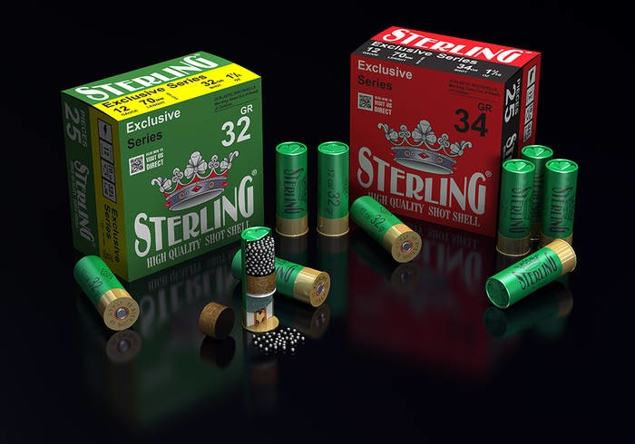 LOGO_STERLING SHOTSHELL CARTRIDGES