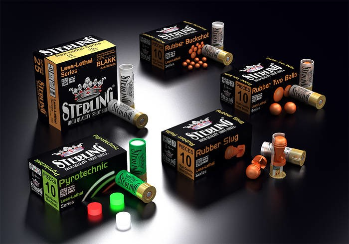 LOGO_STERLING LESS-LETHAL SHOTGUN SHELLS