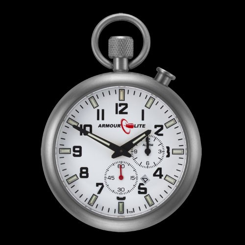 LOGO_ArmourLite Alarm Clock Pocket Watch