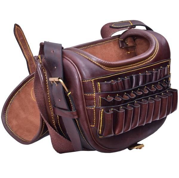 LOGO_Leather Cartridge Bag
