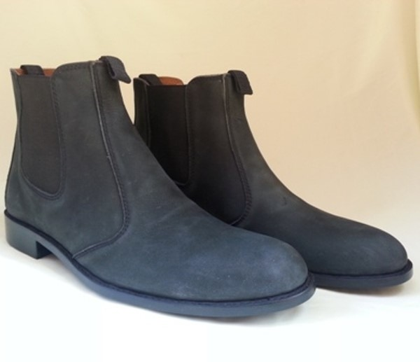 LOGO_Leather Boot