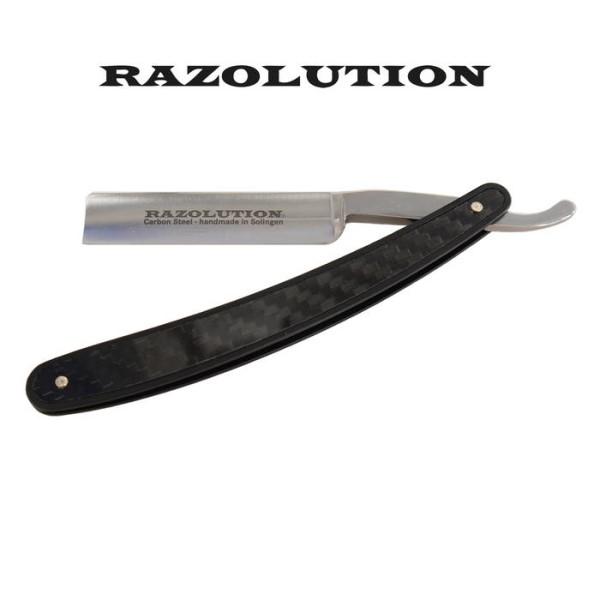 LOGO_Razolution Rasiermesser Carbon/Kohlefaser