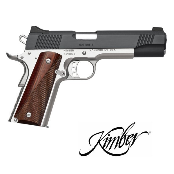 LOGO_KIMBER® Custom II™ (Two-Tone)