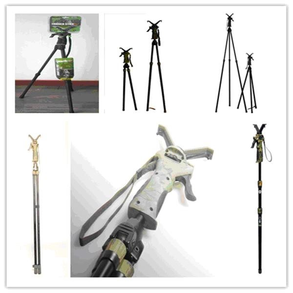 LOGO_FIERY DEER Hunting gun rest shooting sticks tripod/bipod/monopod