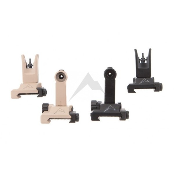 LOGO_Rainier Arms Back Up Iron Sights