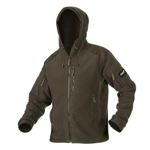 LOGO_Husky fleece jacket