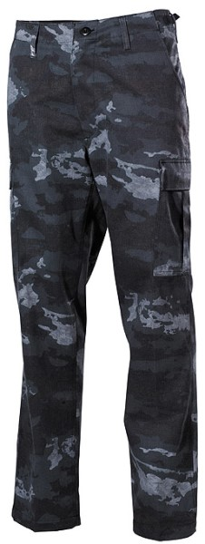 LOGO_US BDU Field Pants, HDT camo grey - fashion type
