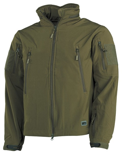 "LOGO_Soft Shell Jacket ""Scorpion"", OD green"