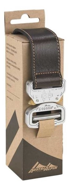 LOGO_LEATHER BELT COBRA 38