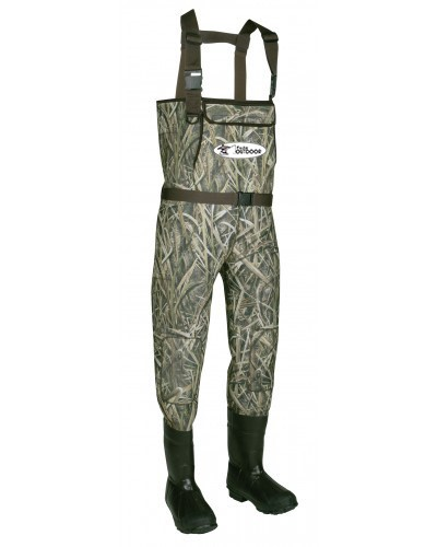 LOGO_Mens Fly Fishing Waterproof Neoprene Camo Chest Wader