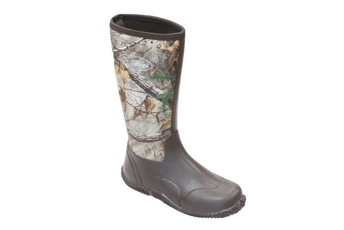 LOGO_Men's  Camo Neoprene Hunting Boots