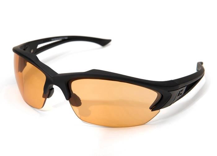LOGO_Acid Gambit – Schwarz matter Soft-Touch Rahmen / Tiger's Eye Vapor Shield Gläser