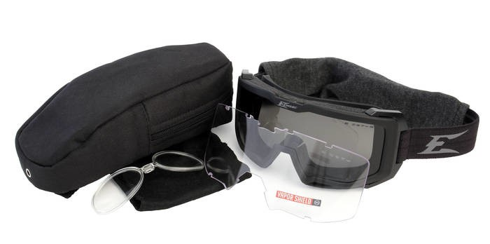 LOGO_Blizzard – Soft-Touch Matte Black Goggles / Clear Vapor Shield, G-15 Vapor Shield Lenses