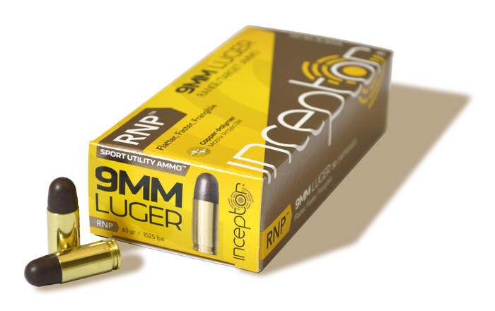 LOGO_Inceptor® 9mm Luger RNP® Sport Utility Ammo™