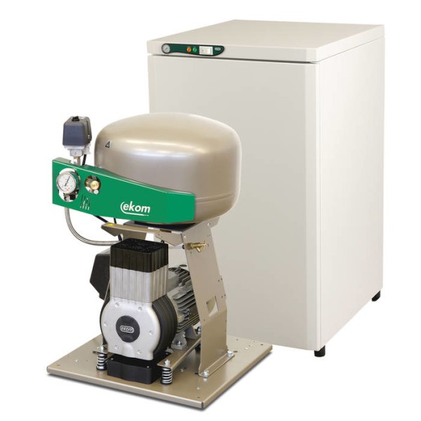 LOGO_DK50 Plus-S Oil free compressor with sound absorbing box