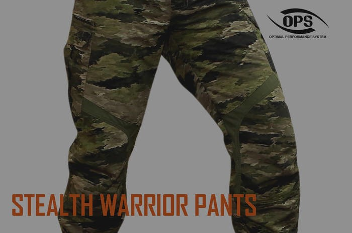 LOGO_STEALTH WARRIOR PANTS