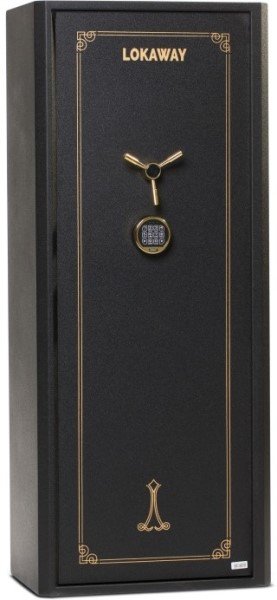 LOGO_LOK4DK - Executive Steel Safes, patented internal hinge, unique fixed locking bolt design.