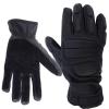 LOGO_Leather Police gloves