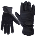 LOGO_Leather Police gloves