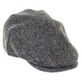 LOGO_HIGHLAND HARRIS TWEED FLAT CAP (ZH014)