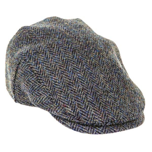 LOGO_HIGHLAND HARRIS TWEED FLAT CAP (ZH014)