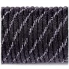 LOGO_Paracord reflective, black #r3016