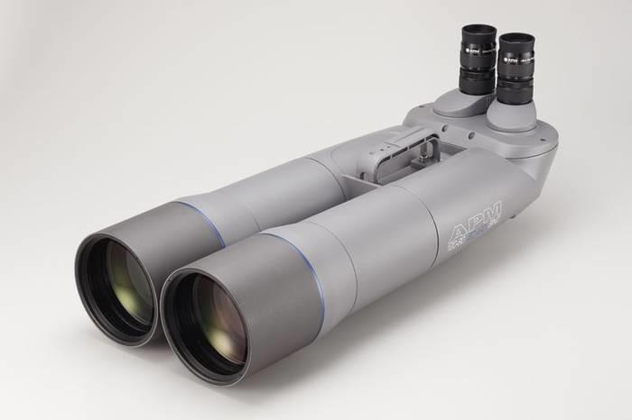 "LOGO_APM 120 mm 90° SD-Apo Fernglas mit 1,25"" Wechselokularaufnahme"