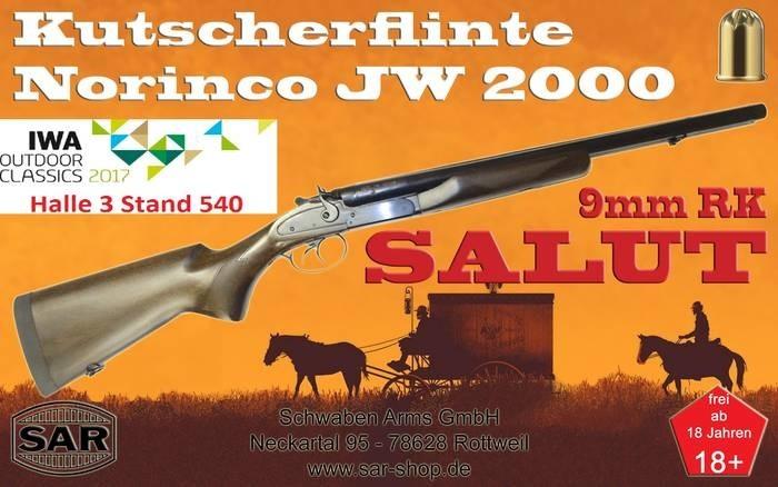 LOGO_SALUT Gewehr NORINCO Mod.JW2000 im Kaliber 9mm RK Knall