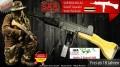 LOGO_SALUT Gewehr SAR M54 M2 A2 im Kaliber 9mm PA Knall