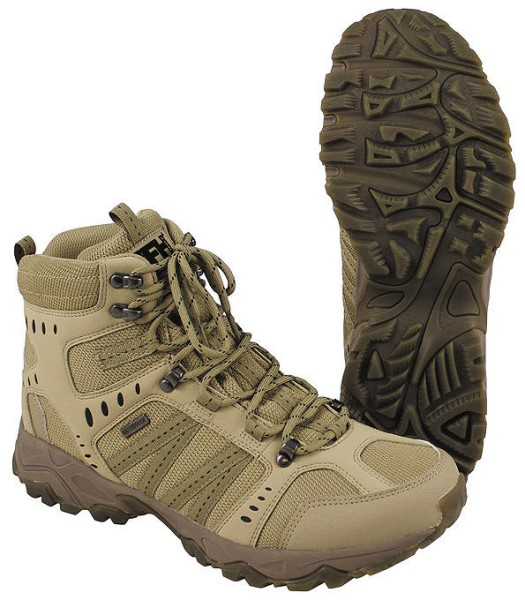 "LOGO_Einsatzstiefel ""Tactical"", coyote tan"