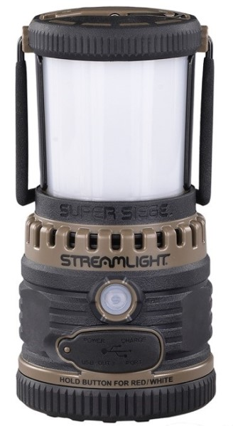 LOGO_SUPER SIEGE® RECHARGEABLE  LED LANTERN