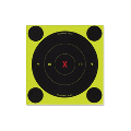 "LOGO_Shoot•N•C® Self-Adhesive 6"" Round X-Bull's-Eye Targets"