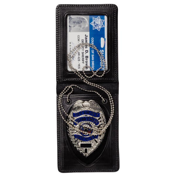 LOGO_Magnetic ID and Badge Carrier with Chain