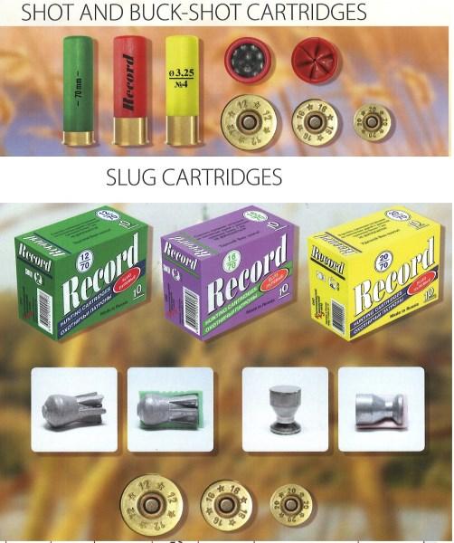 LOGO_Shot, buck-shot and slug hunting cartridges