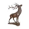 LOGO_Deer bronze statue