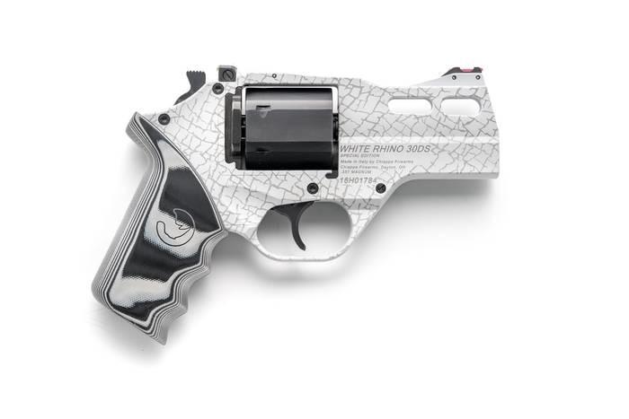 "LOGO_Rhino Revolver 30DS Special Edition ""White Rhino"""