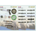 LOGO_Air Pistol Set_Craft Gun_Rifle Scope