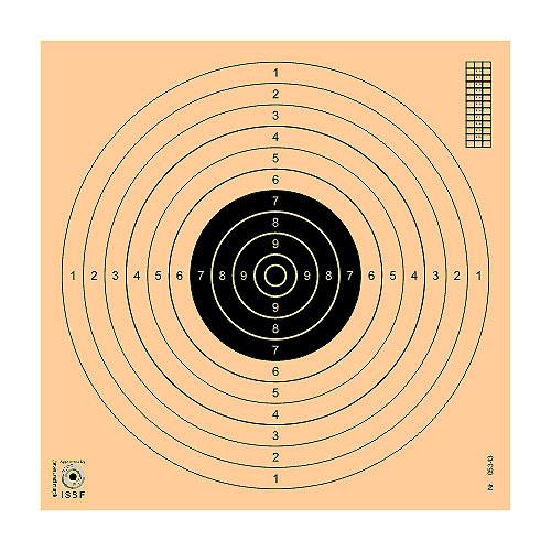 LOGO_Schießscheibe für Gewehr, Pistole und Vorderladerwaffen