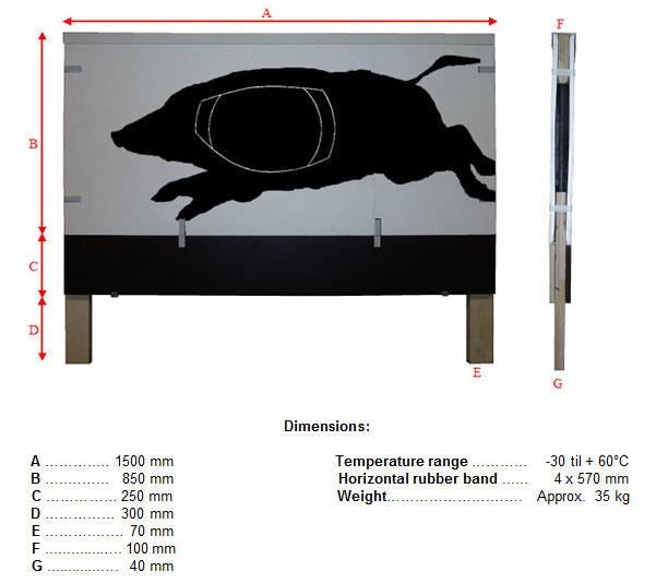 LOGO_Target model U3B: Running Boar
