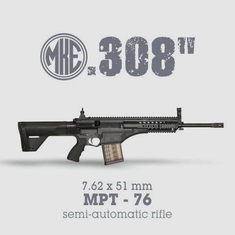 "LOGO_0.308 "" (7.62 x 51 mm) MPT-76 semi-automatic rifle"